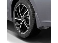 Acura ILX Splash Guards-Rear;Exterior Color :Modern Steel Metallic - 08P09-TX6-290B