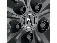 Acura Wheel Lug Nuts (4) (Black) - 08W42-TZ5-200B