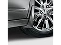 Acura 06750TZ3C00ZM Splash Guards-Front;Exterior color :Platinum White Pearl