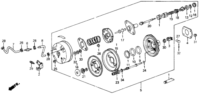 1986 Acura Integra Master Power Diagram