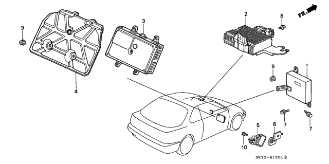 1992 Acura Integra Control Unit Diagram