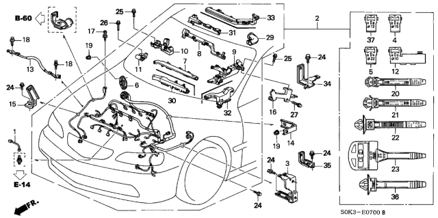 2003 Acura Tl Type S Engine Diagram | Acura Tl Engine Schematics |  | English Tenses