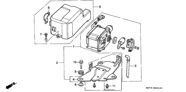 1992 Acura Integra Auto Cruise Diagram
