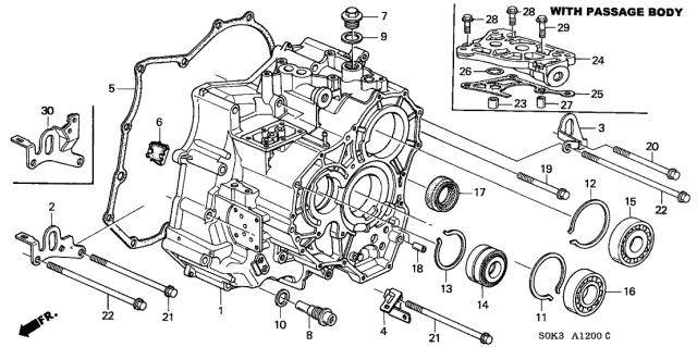 21210-P7W-425 Genuine Acura Part | Acura Transmission Diagrams |  | Acura Parts