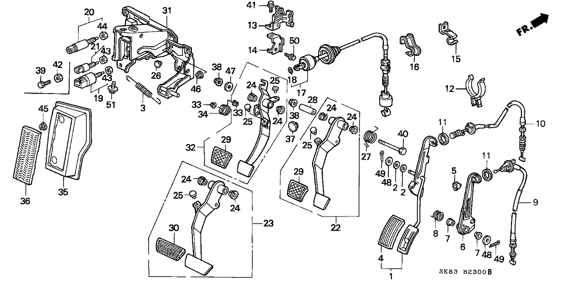 Resource T D Amp S L Amp R A Cbc E D E A Ce E C D C Bb Ce Ff Fa A on 1993 Acura Integra Gs Parts