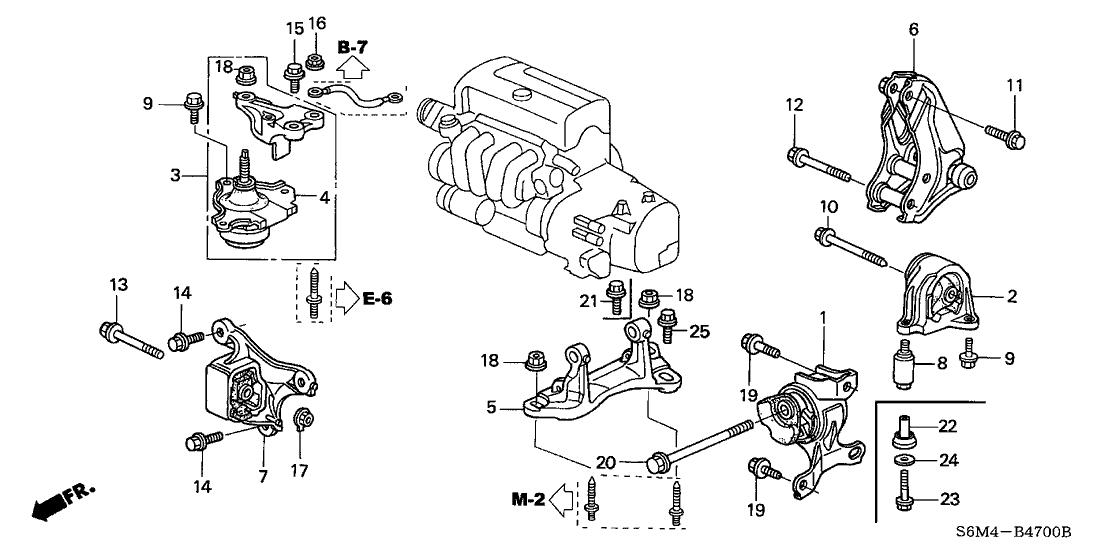 Rsx Engine Mount Diagram - Schematics Online on