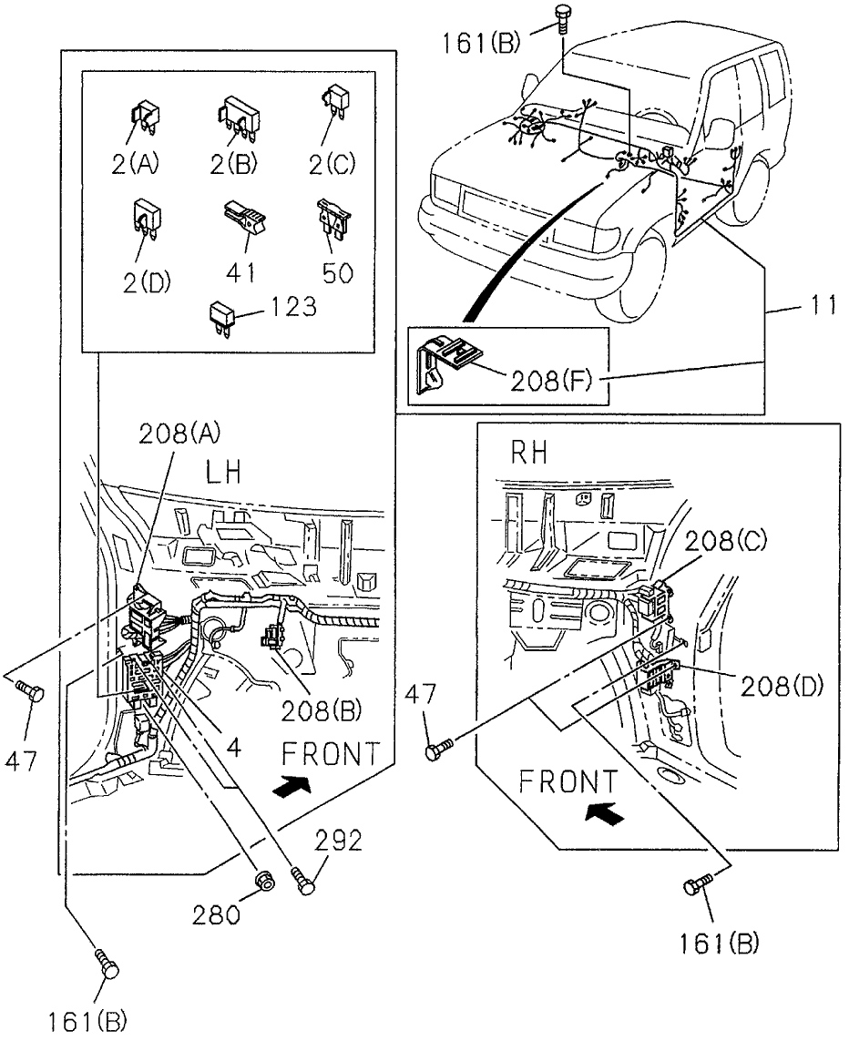 1997 Acura Slx Fuse Box Location - Cars Wiring Diagram Blog