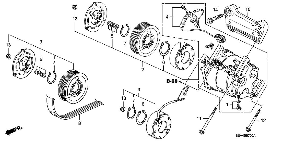 Acura Tsx Engine Belt Diagram