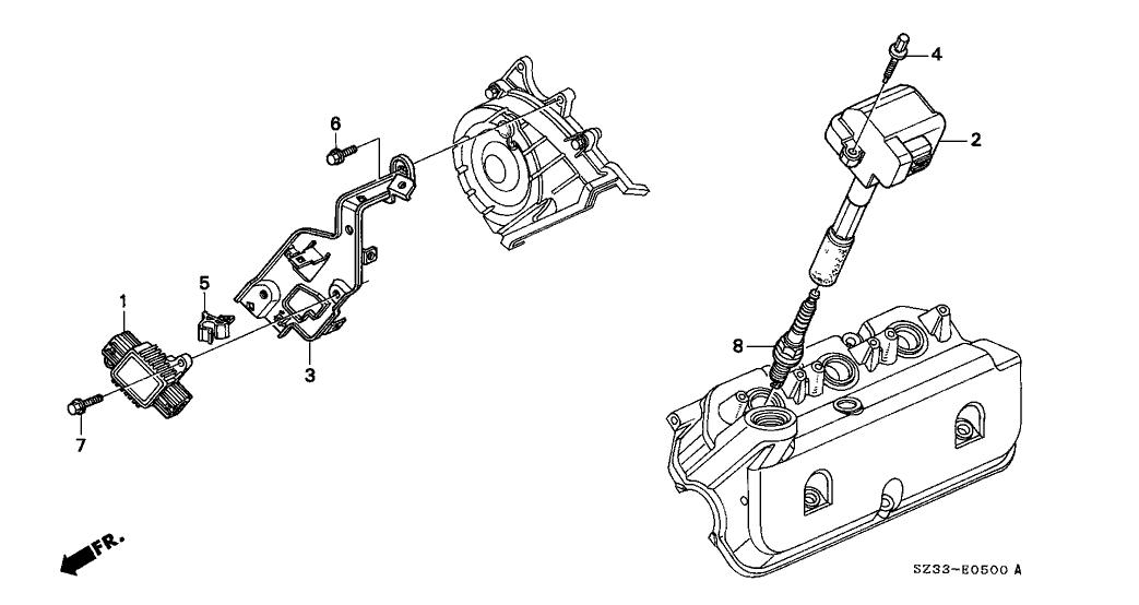 2001 Acura Rl Engine Diagram