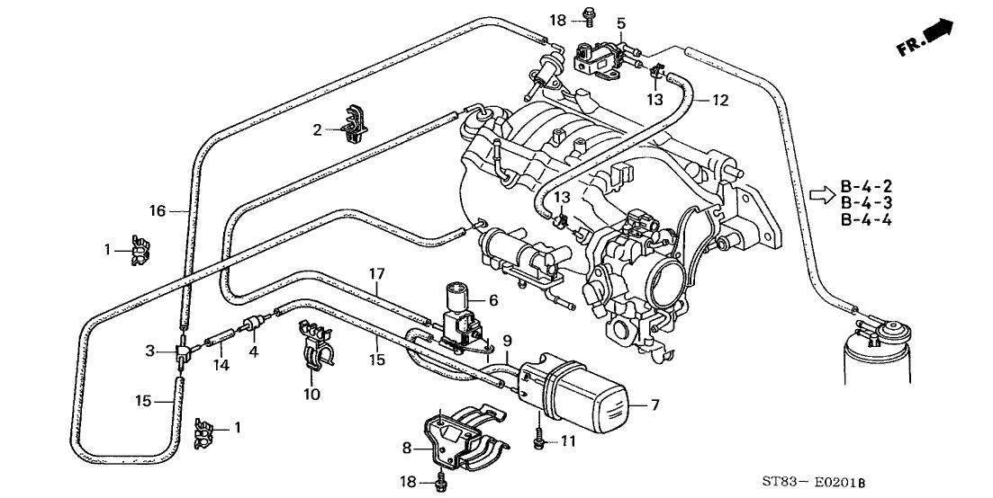 1997 Acura Integra Engine Diagram