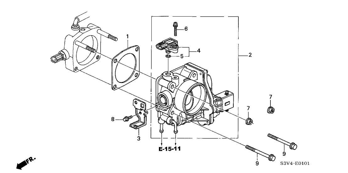 2003 Acura Mdx Engine Diagram