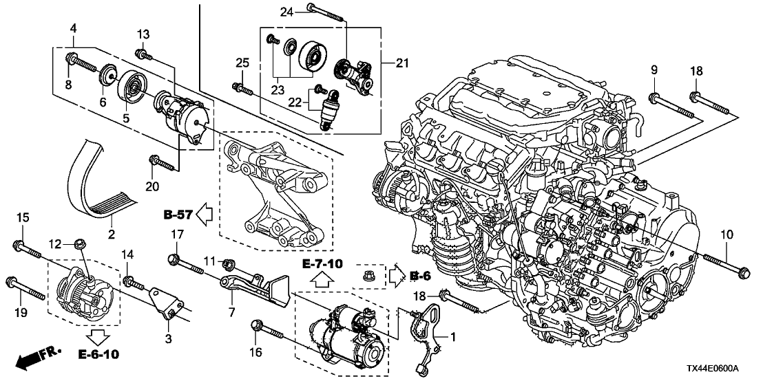 Acura Engine Diagram