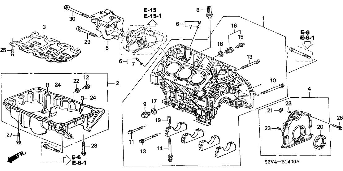 11200-RDJ-A00 - Genuine Acura Pan, Oil