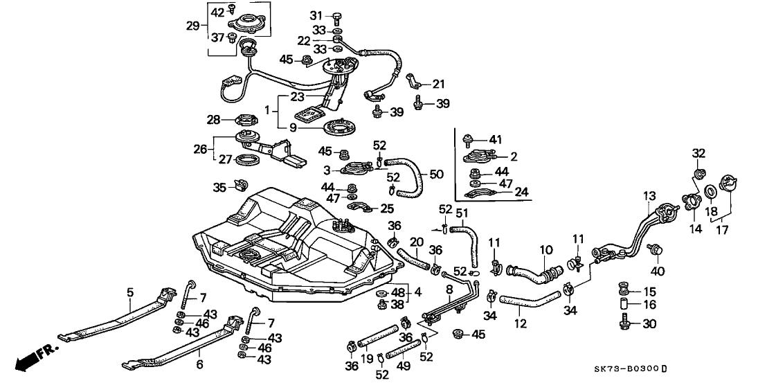 Prime 17525 Sh3 010 Genuine Acura Bolt Fuel Tank Mounting Wiring 101 Relewellnesstrialsorg