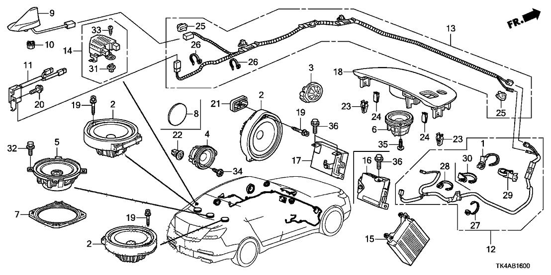 2000 Acura Tl Antenna Wiring Diagram