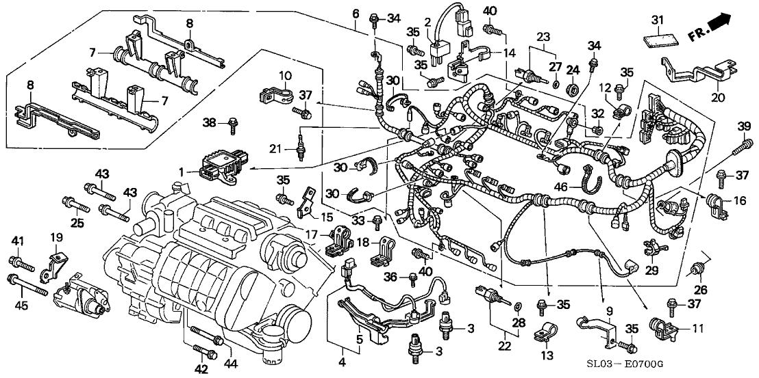Acura 32110-PBY-A01 on
