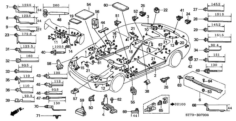 1997 Acura Integra Engine Diagram - Wiring Diagram