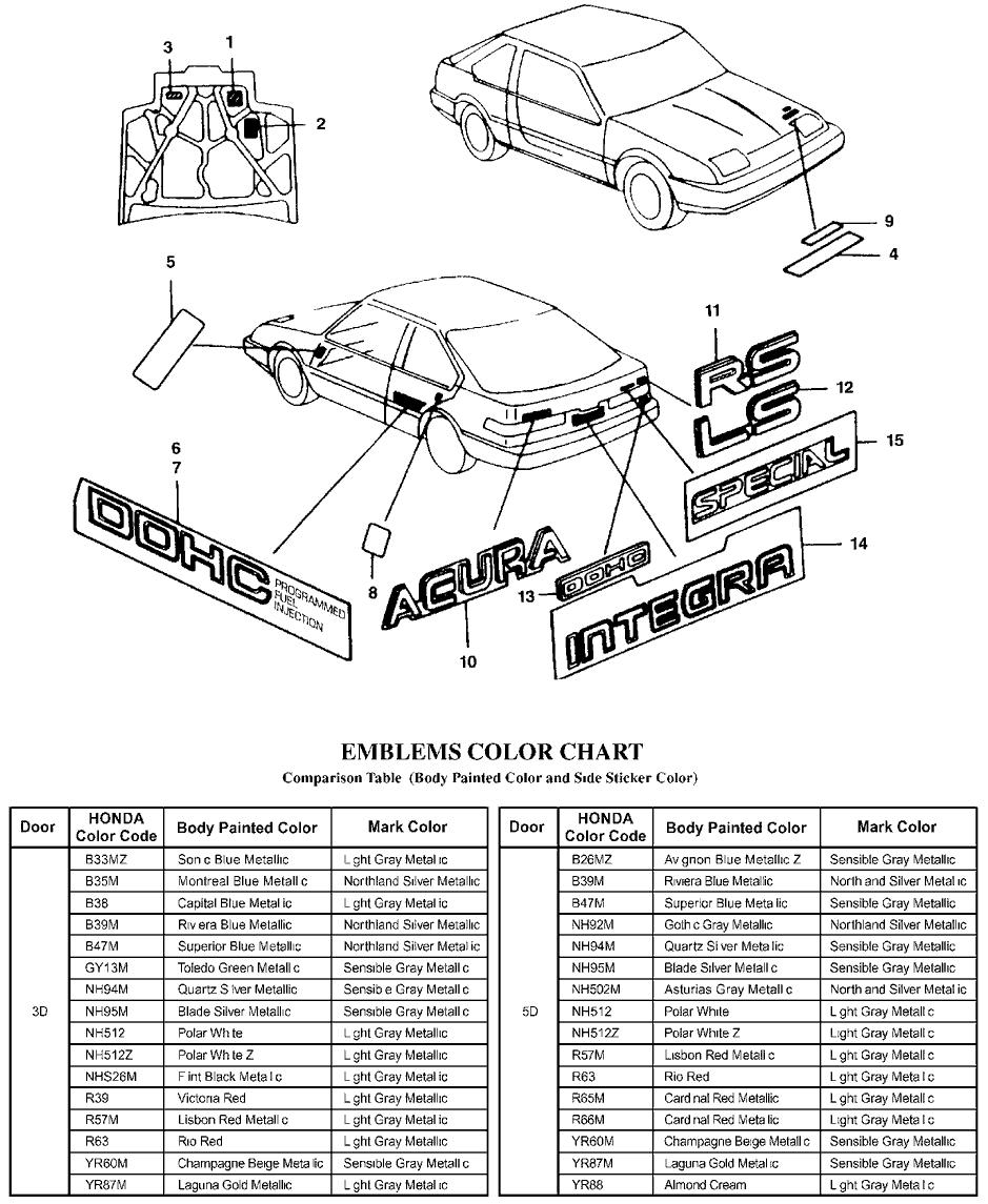 Genuine Acura Parts
