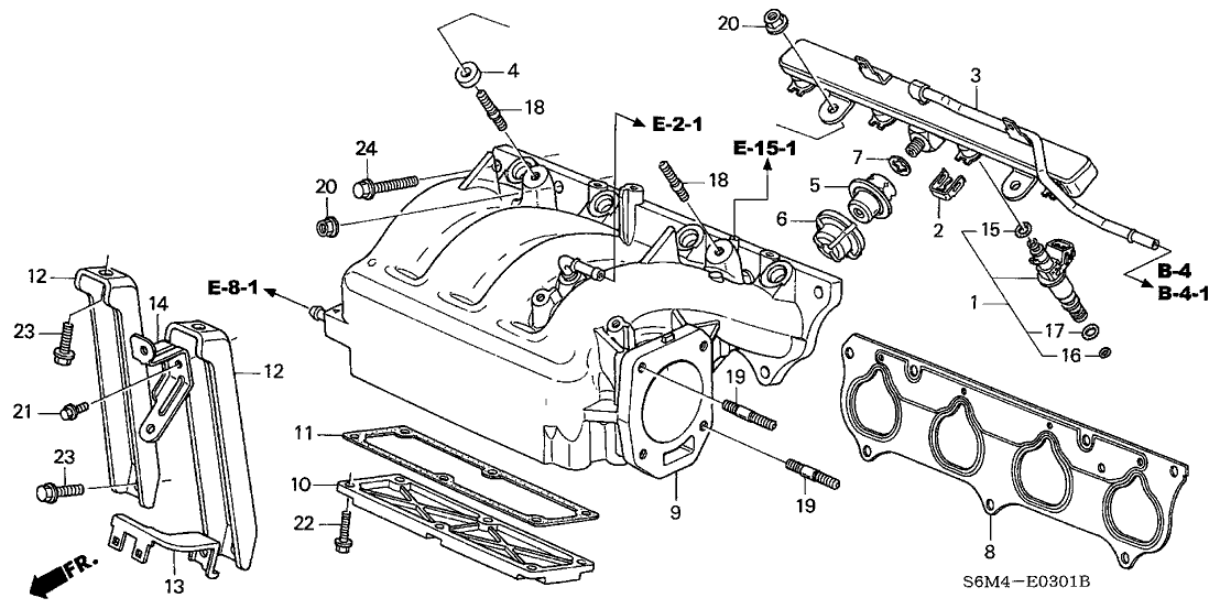 Acura 17100-PRB-A02