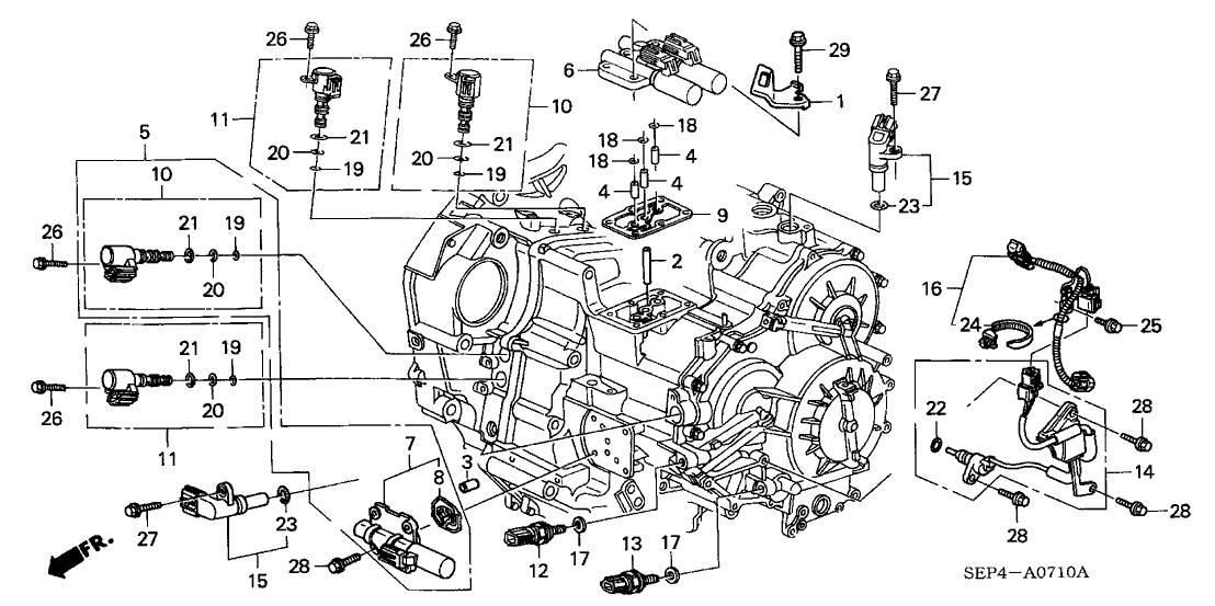 honda acura mdx engine belt diagram 28610 ray 003 genuine    acura    parts  28610 ray 003 genuine    acura    parts