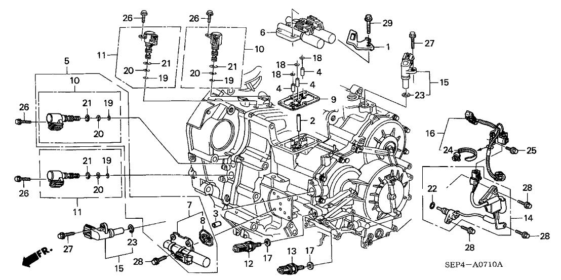 29 2004 Acura Tl Parts Diagram