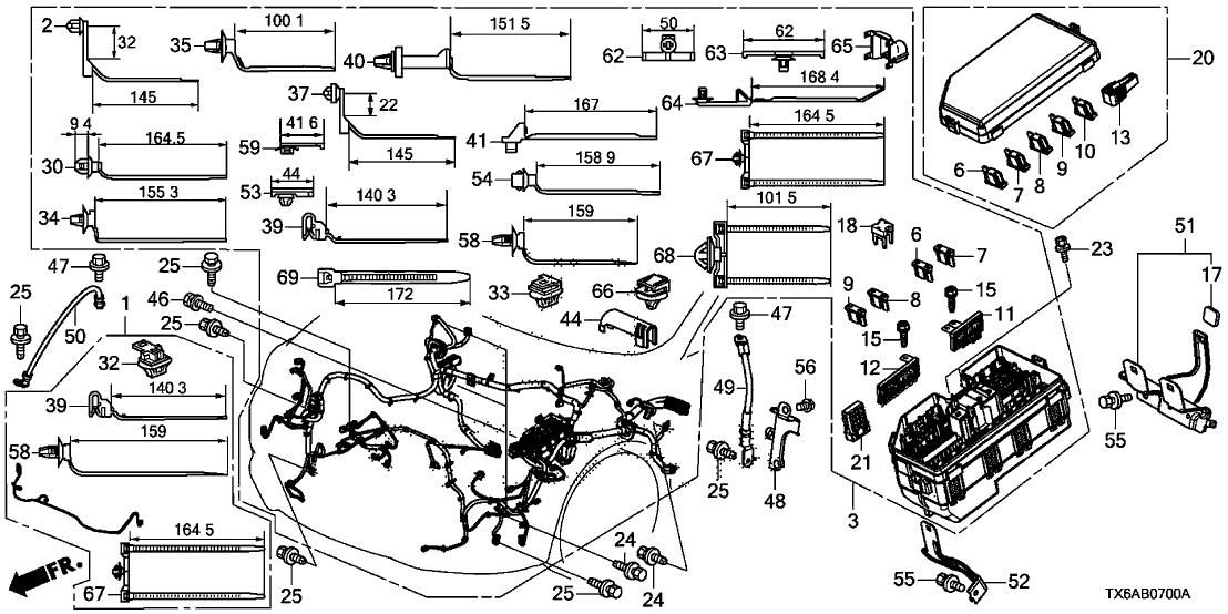 Acura 32200-TX6-A20 on