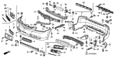 Related Parts for Acura Bumper - 04711-SEP-A90ZZ