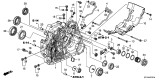 Related Parts for Acura ZDX Bellhousing - 21110-RT4-305