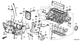Related Parts for Acura Oil Pan Gasket - 11252-PWA-000