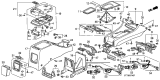 Related Parts for Acura Vigor Ashtray - 88320-SB3-950ZK