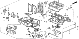 Related Parts for 1998 Acura CL Blend Door Actuator - 79140-SV4-A01