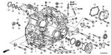 Related Parts for Acura TL Bellhousing - 21210-R97-000