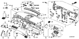 Related Parts for Acura RL Air Bag - 77820-SJA-A51