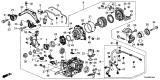 Related Parts for Acura Differential - 41200-R8D-030