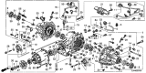 Related Parts for Acura Differential - 41200-RJC-020