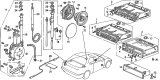 Related Parts for Acura Antenna Mast - 39152-SM4-A03
