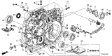 Related Parts for Acura ILX Bellhousing - 21110-RDS-305