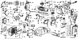 Related Parts for Acura NSX Relay - 39794-SDA-A05
