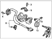 Acura Ignition Lock Assembly - 35100-S3V-A05