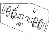 Acura RLX Brake Pad Set - 45022-TY2-A02