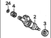 Acura Integra Fuel Injector - 06164-PR4-000