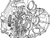 Acura Legend Bellhousing - 21110-PG4-040