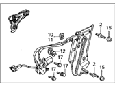 Acura Legend Window Regulator - 72510-SG0-S01
