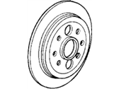 Acura Integra Brake Disc - 42510-SD2-A00