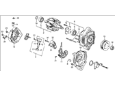 Acura Integra Alternator - 31100-PG7-013RMD