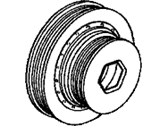 Acura CL Crankshaft Pulley - 13810-PAA-A01