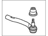 Acura Tie Rod End - 53540-STX-A02