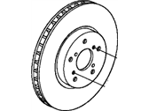 Acura Brake Disc - 45251-STX-H01