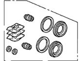 Комплект суппортов Acura 01463-SHJ-A00, FR.