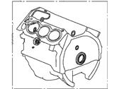 Комплект прокладок Acura 06111-R70-A00, блок цилиндров